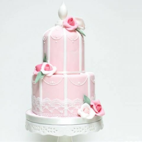 کیک عروسی کوچک