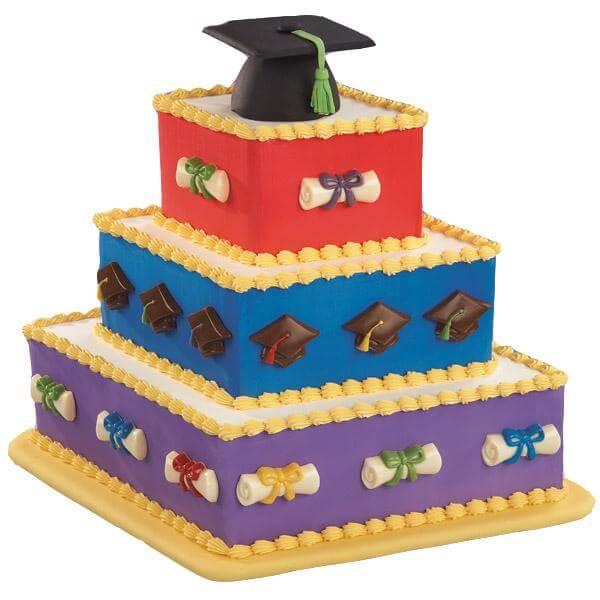 کیک جشن فارغ اتحصیلی