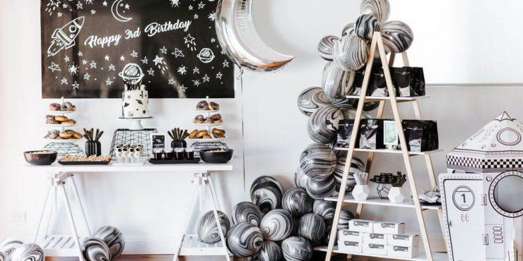 جشن تولد پسرانه با تم فضایی