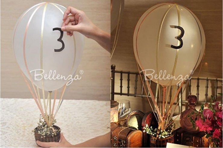 یک جشن عروسی هیجان انگیز با بالن های بادکنکی