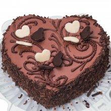 کیک تولد کاکائویی