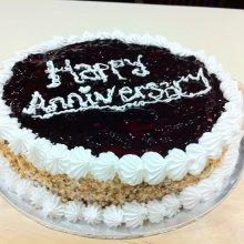 کیک شکلاتی سالگرد ازدواج