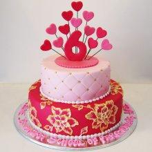 کیک جشن سالگرد ازدواج