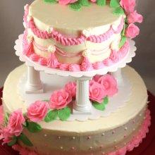 کیک دوطبقه جشن ازدواج