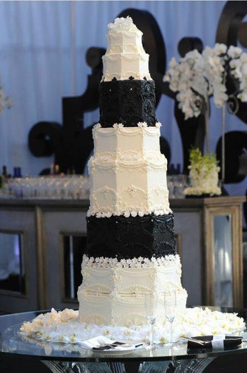 کیک عروسی لاکچری کیم کارداشیان