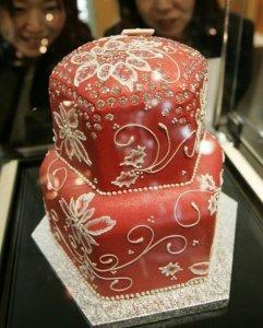 کیک 1.3 میلیون دلاری!