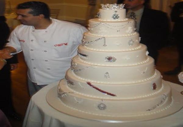 کیک الماسی داوراه رز (Davorah Rose) به ارزش