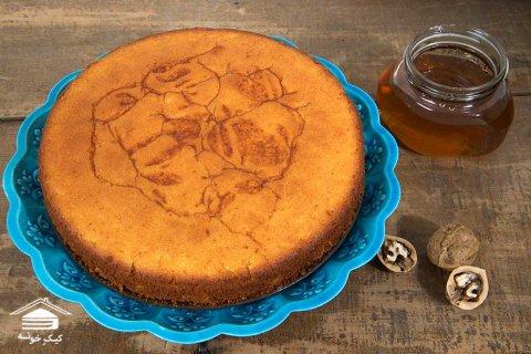 کیک عسلی کیک خونه - کیک خانگی