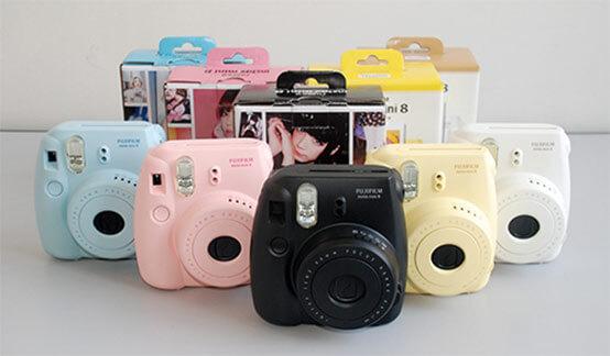 هدیه دوربین instx mini
