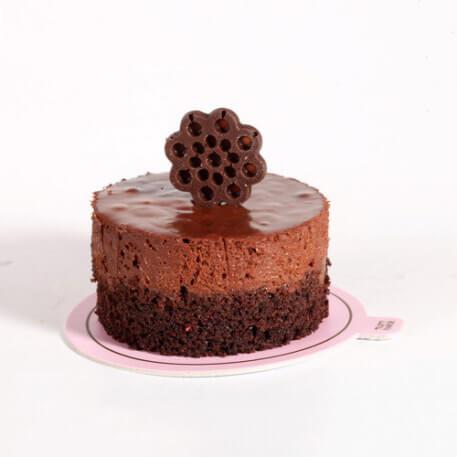 موس کیک شکلات بلژیکی آرد خوشمزه