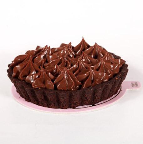 تارت شکلات آرد خوشمزه