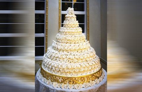 کیک 7 هزار دلاری مایکل داگلاس