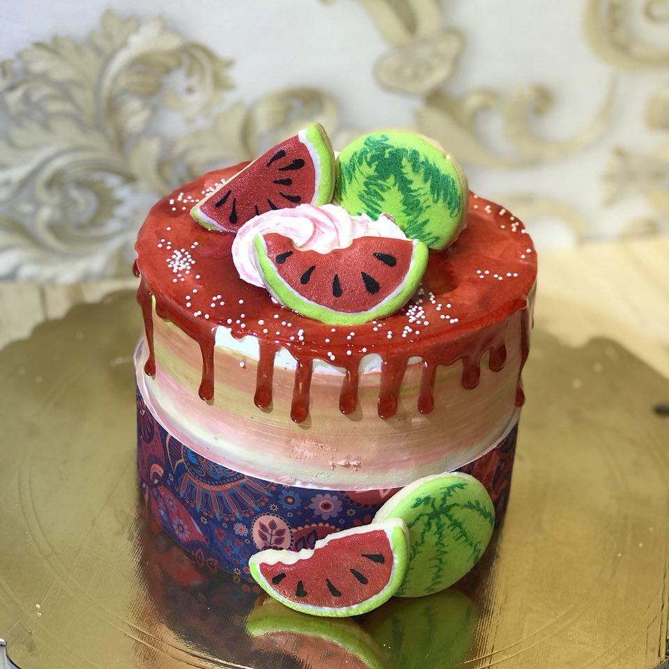 کیک هندوانه یلدا